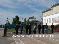 Церемония вручения памятных знаков «В память военного парада в Куйбышеве 7 ноября 1941 г.»