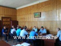 Заседание комиссии по профилактике правонарушений на территории муниципального образования «Карсунский район»