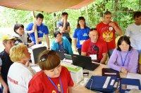 В Новоспасском районе близ села Рокотушка состоялся 1-ый областной фестиваль учительских клубов
