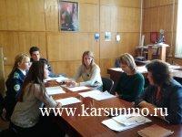 Заседание Молодежной избирательной комиссии МО «Карсунский район»