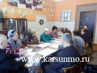 Заседание «серебряной» администрации района