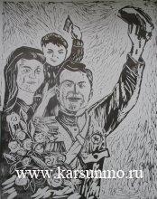 Выставка работ учащихся Карсунской ДШИ им. А. Пластова