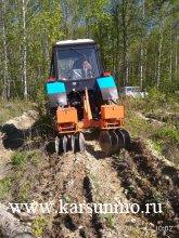 В Карсунском лесничестве проводится агроуход за лесными культурами