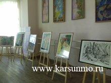 Выставка работ детского художественного творчества