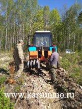 Более 5,5 тыс км прошли сотрудники Карсунского лесничества в ходе патрулирования
