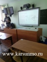 Мобильный технопарк «Кванториум» начинает работать в Карсунском районе
