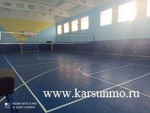 Ремонт спортзала в Устьуренской школе завершён