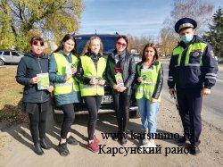 Профилактическая акция «Соблюдение ПДД – залог успеха на дороге!»