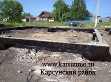 Строительство нового фельдшерско-акушерского пункта в с.Краснополка