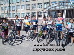 Акция «Велосипед – без бед!»