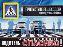 Внимание  пешеход!