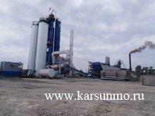 Новый межрайонный асфальтобетонный завод запустили в Карсунском районе