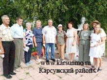 Митинг, посвященный 78 годовщине окончания Курской битвы